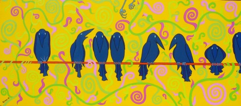 fåglar, Vögel